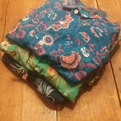 packing shirts in Cora + Spink travel bags